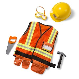 Construction Costume Ages 3-6