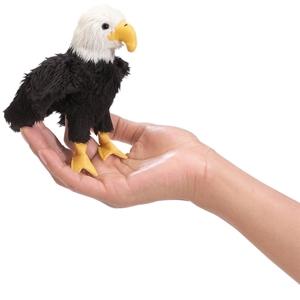 Mini Eagle Finger Puppet