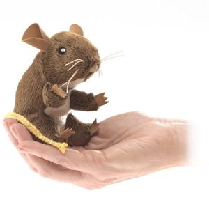 Mini Field Mouse Finger Puppet