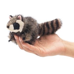 Mini Racoon Finger Puppet