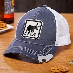 Bear Plus Deer Trucker Bottle Opener
