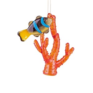 Coral & Fish Ornament