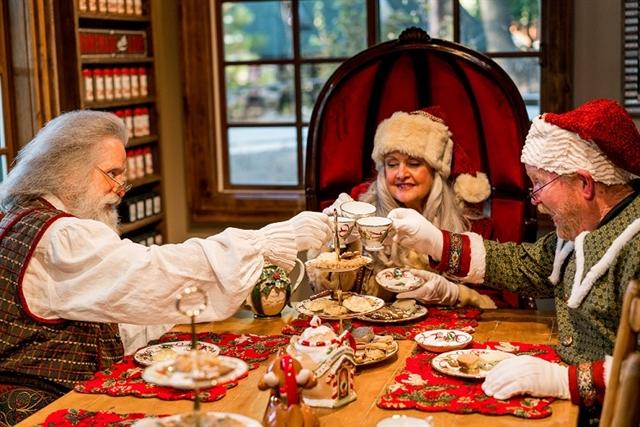 Tea Party w/ Mrs. Claus