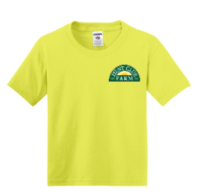 Neon Yellow Youth XS T-Shirt