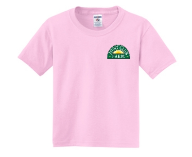 Pink Youth XS T-Shirt