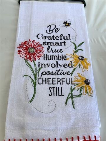 Be Grateful Towel