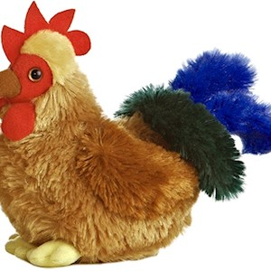 Stuffed Cocky Rooster