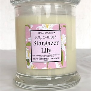 Stargazer Lily Candle