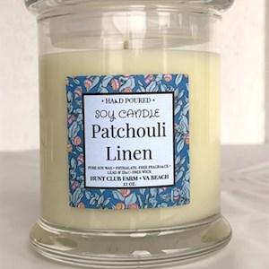 Patchouli Linen Candles