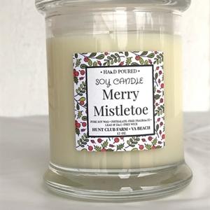 Merry Mistletoe Candle