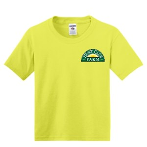 Neon Yellow Youth Small T-Shirt