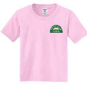 Pink Youth XS T-Shirt