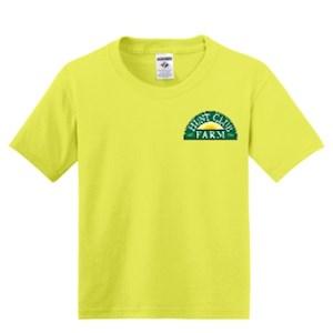 Neon Yellow Youth Medium T-Shirt