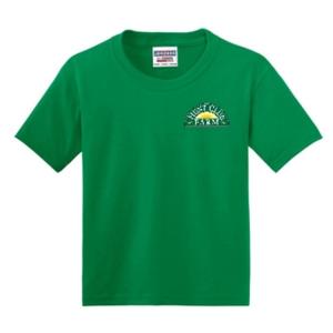 Kelly Green Youth Medium T-Shirt