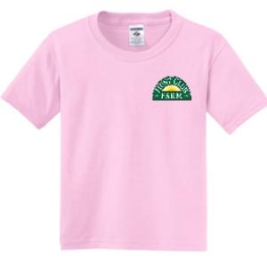 Pink Youth Medium T-Shirt