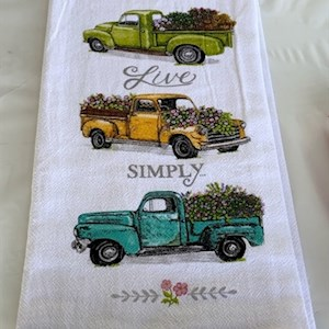 Live Simply Towel