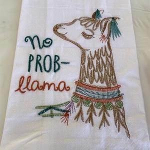 Lovely Llama Towel