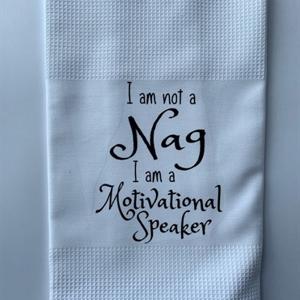 Motivational Speaker Kitchen Towel