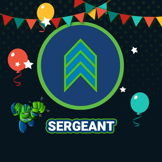 Sergeant Party Package