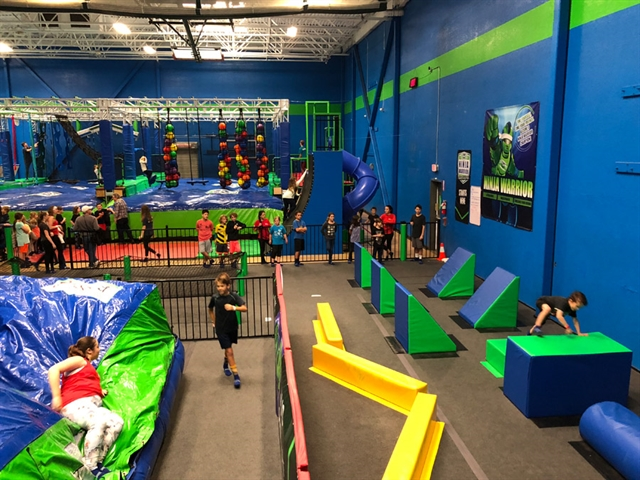 Ninja Warrior Competition Bday