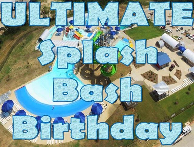 Ultimate Splash Bash Birthday