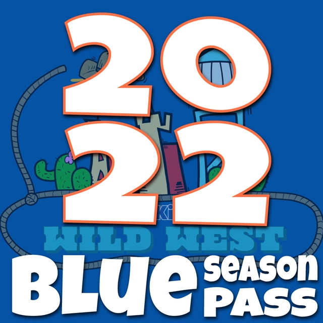 2020 Blue Season Pass - Regular Price $95.00