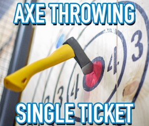 Axe Throwing Single Ticket