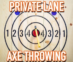 Axe Throwing Private Lane