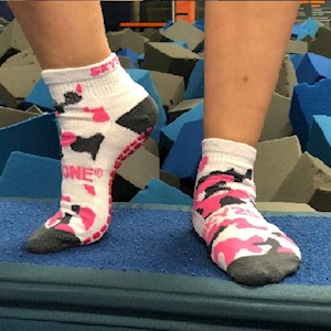 Camo Socks - Pink