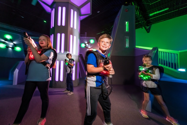 Mega Laser Tag Party