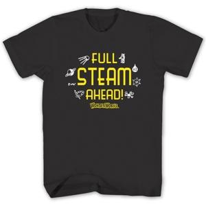 Full STEAM Ahead T-Shirt Small
