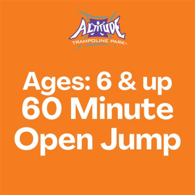 60 Min. Open Jump