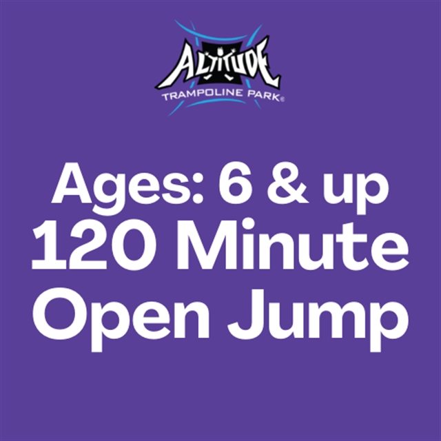 120 Min. Open Jump