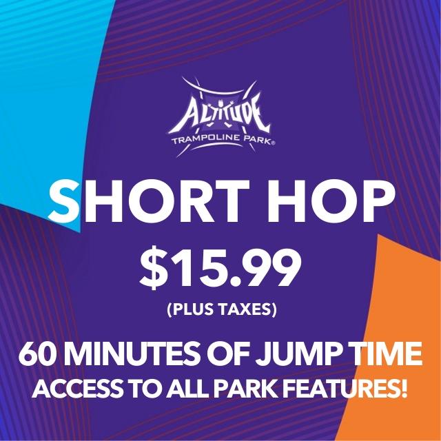 Short Hop 60 Min. Open Jump