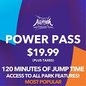 Power Pass 120 Min. Open Jump