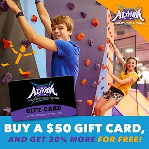 $50 Gift Card Get $15 Free