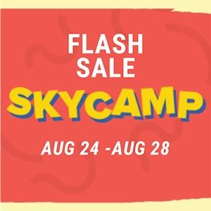 Sky Camp Flash Sale August 24-August 28