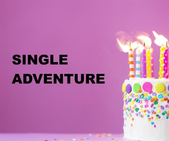 Single Adventure Party Package