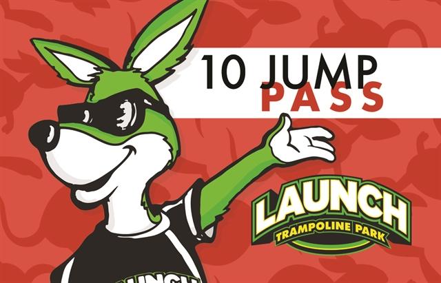 Frequent Launcher 10 Jump Pass