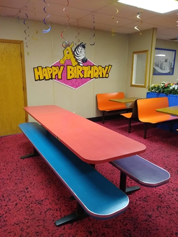 Rick's Roller Rink Cafe Table