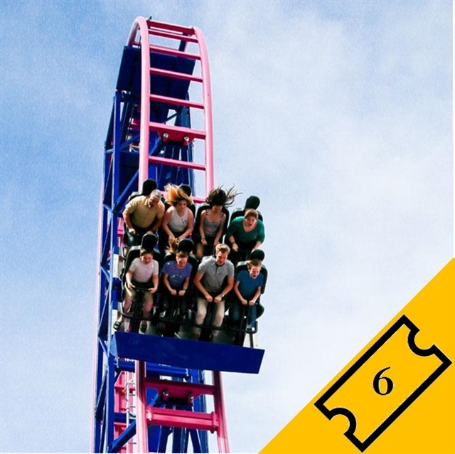 Ultimate Rides: 6 Tickets
