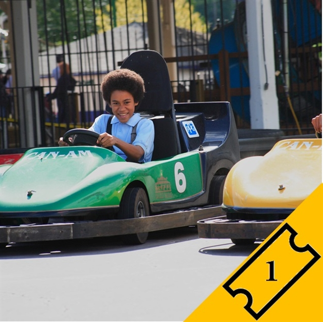 Go Kart Driver - Single Ticket