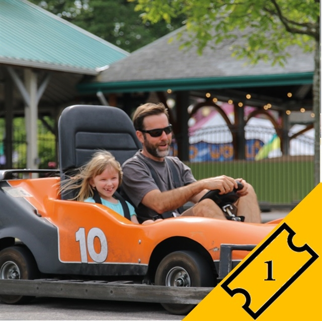 Go Kart Passenger - Single Ticket