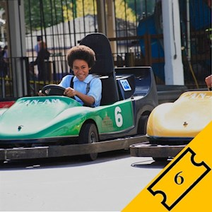 Go Kart Driver - 6 Tickets