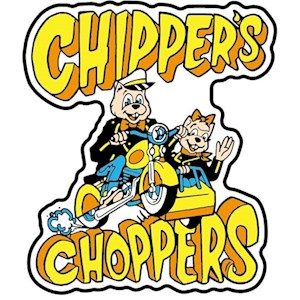 **CLOSEOUT** Chipper's Choppers Pin