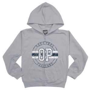 Zip-front Hoodie - Youth