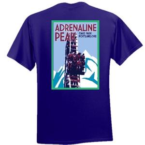 Adrenaline Peak Short-sleeved Tee - Adult