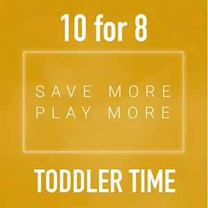 10 for 8 Toddler Time