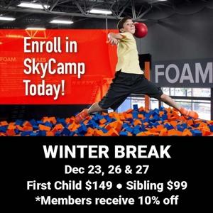 Sky Camp Dec 23,26 & 27