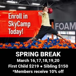 Sky Camp March 16-20